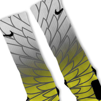 Wings 6 Custom Nike Elite Socks