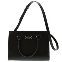 Kate Spade Wellesley Durham Leather Satchel Shoulder Bag