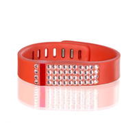 Replacement band for Fitbit with Swarovski crystal details
