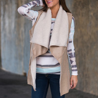 Fur-ever Yours Vest, Natural