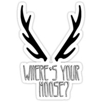 'Where's Your Moose?' SuperNatural Crowley Quote