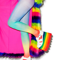 Dream Bags Radiant Gradient Tights Rainbow One