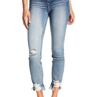 SP BLACK | Distressed High Rise Skinny Jeans | Nordstrom Rack