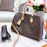LV Louis Vuitton High Quality Women Men Leather Luggage Travel Bags Tote Handbag Crossbody Satchel