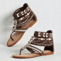 Embellished for Effect Sandal | Mod Retro Vintage Sandals | ModCloth.com