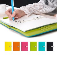 2017 A5 Cute Candy Agenda Daily Planner Organizer Dokibook Notebook Loose-leaf Notebook Gifts Spiral Notepad Office Stationery