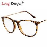 Classic Fashion Star Style Glasses frame women men eyeglasses clear lens glass brand design optical oculos de grau JN607