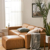 Modular Recycled Leather Sofa | Urban Outfitters