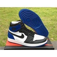 Air Jordan 1 x Fragment Design Basketball Shoes 41---46