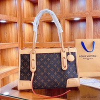 Louis Vuitton LV classic ladies bag shoulder bag fashion presbyopia handbag