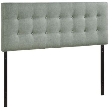 Upholstered Button Tufted, Padded Textured Fabric, and Vinyl Headboards