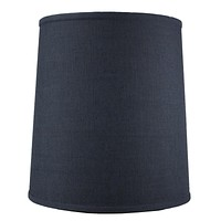 """14""""W x 15""""H Drum Lamp Shade Textured Slate"""