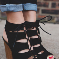 Fashion Faithful Heel - Black