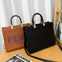 Fendi Fendi fashion Tote handbag with large capacity one shoulder cross-body bag for ladies