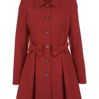 Red Bow Coat