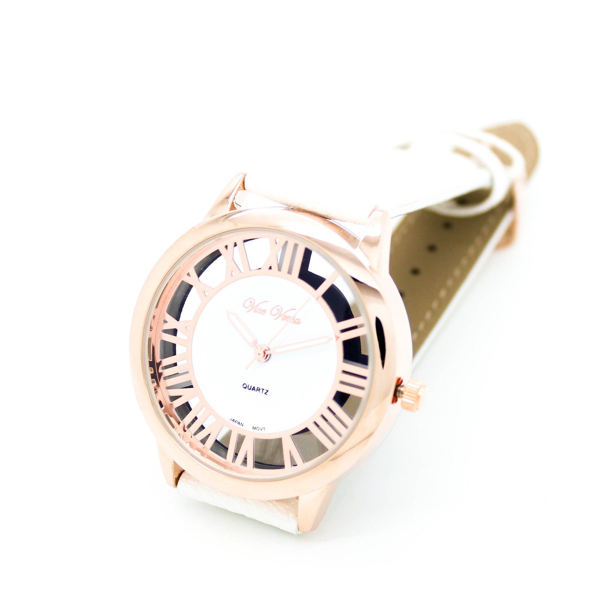 Image of Roman numeral strap watch
