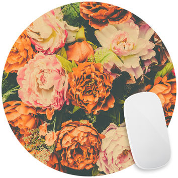 Vintage Flower Mouse Pad Decal