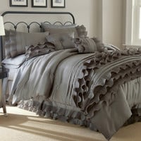 Harper Luxury 8 PC Ruffle Accent Comforter Set