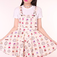 Glitters For Dinner — Macaroon Pinafore