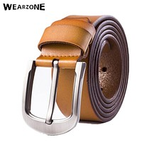 Men Belts High Quality Genuine Leather Belt Man Fashion Strap Male Cowhide Belts For Men Jeans Cow Leather