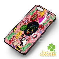 Bands and TV Show art collage case -fun3 for iPhone 6S case, iPhone 5s case, iPhone 6 case, iPhone 4S, Samsung S6 Edge