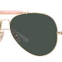 Ray-Ban RB3029 L2112 62-14 OUTDOORSMAN II Gold sunglasses | Official Online Store US