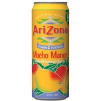 Arizona Tea Mucho Mango 11.5 Oz Slim Can Pack of 30