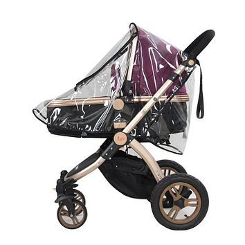 Universal Baby Canopy Waterproof Stroller Rain Cover Wind Shield Most Stroller Pushchairs PVC Environmental Material