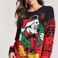 Mickey Mouse Holiday Sweater