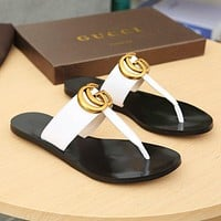 Bags Discount Popular Summer Women's Flats Men Slipper Sandals Shoes