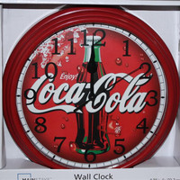 Coca Cola Quartz Wall Clock