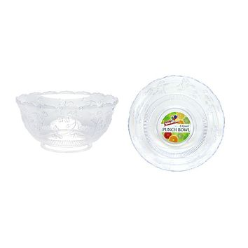 8 Quart Clear Punch Bowl