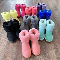 UGG Girls Casual Half Boots Trending Shoes-3