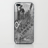 Urban Jungle iPhone & iPod Skin by Ally Coxon | Society6