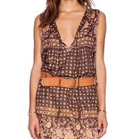 Spell & The Gypsy Collective Desert Rose Dress in Brown