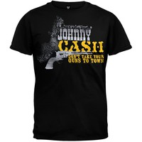 Johnny Cash - Guns Soft T-Shirt