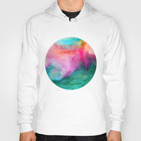 Staring at the Ceiling Hoody by Jacqueline Maldonado