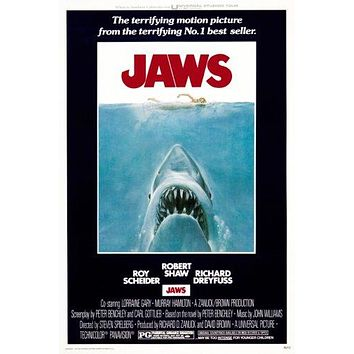 Jaws Movie Poster 11 inch x 17 inch poster