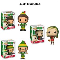 Elf Funko Pop! Holidays Bundle