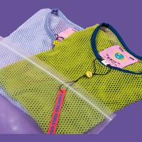 Mesh Baby Tee Two-Pack