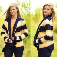 Cheer, Cheer For Old Notre Dame Cardigan