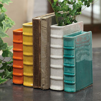 Terracotta Book End from Creative Co-op