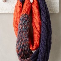 Ainsley Infinity Scarf by Anthropologie Red One Size Scarves