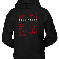 Twenty One Pilots Blurryface Quote Whois Hoodie Two Sided