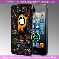 Astrology iPhone 4 Case iPhone 4S Case iPhone 5 Case Samsung s3 Case Samsung S2 Case Hard Cover