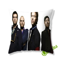 Coldplay Music Band Square Pillow Cover