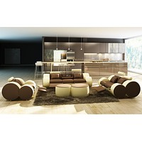 Barletta - Luxury Recliner Sofa - D