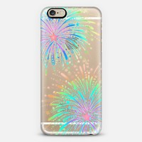 New Year's Radiant Rainbow Fireworks - transparent iPhone 6s case by Micklyn Le Feuvre | Casetify
