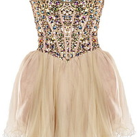 Champagne Bubbles Dress | Homecoming Prom Dresses | Rickety Rack