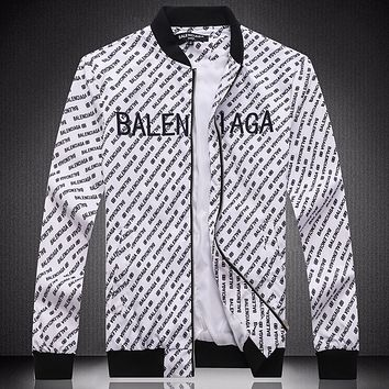 Boys & Men Balenciaga Casual Edgy Jacket Loose Coat